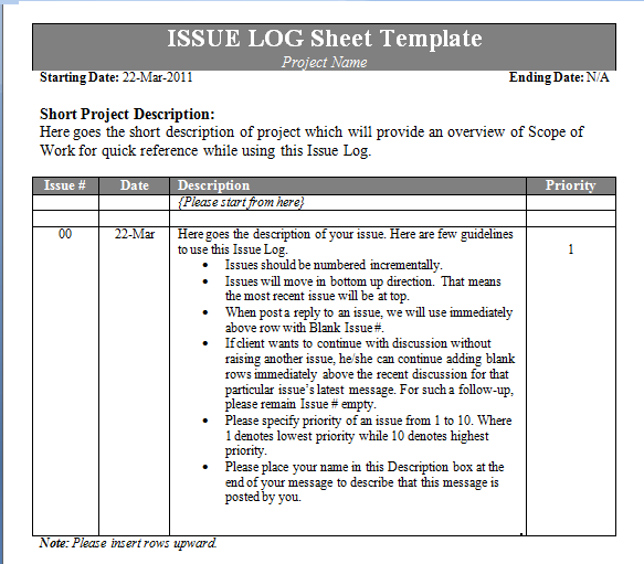 log-sheet-template