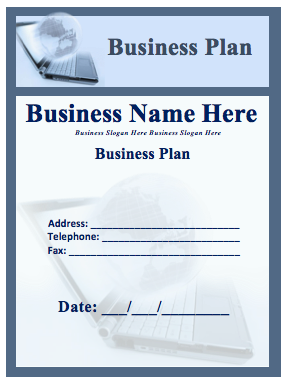 Business Plan Template Word Templates - Sample business plan templates