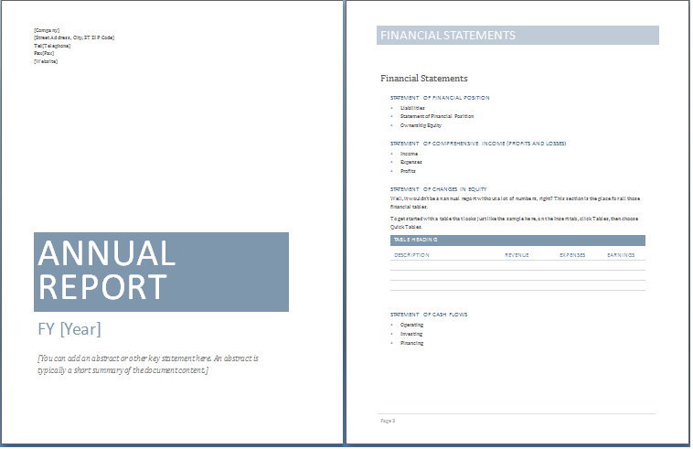 Free microsoft word report templates fbccfo Gallery