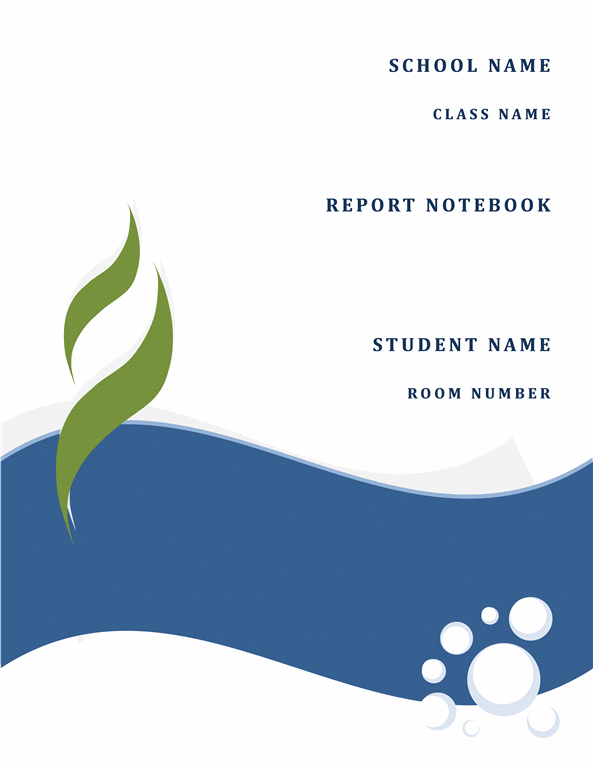 ms word report templates – Word Template Report