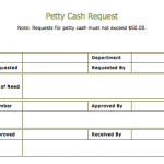 Cash Slip Template – 4 Free Printable Templates