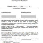Property Contract Template