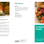 Spring Event Brochure Template