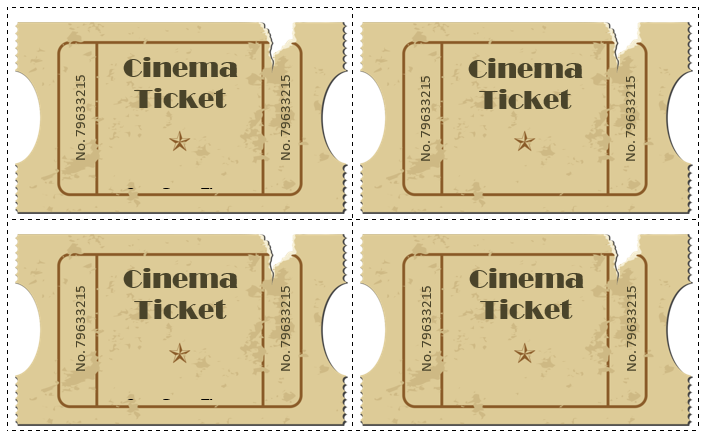 movie ticket templates 5