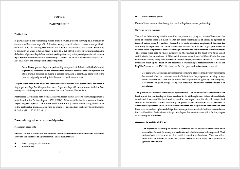 partnership agreement template 07