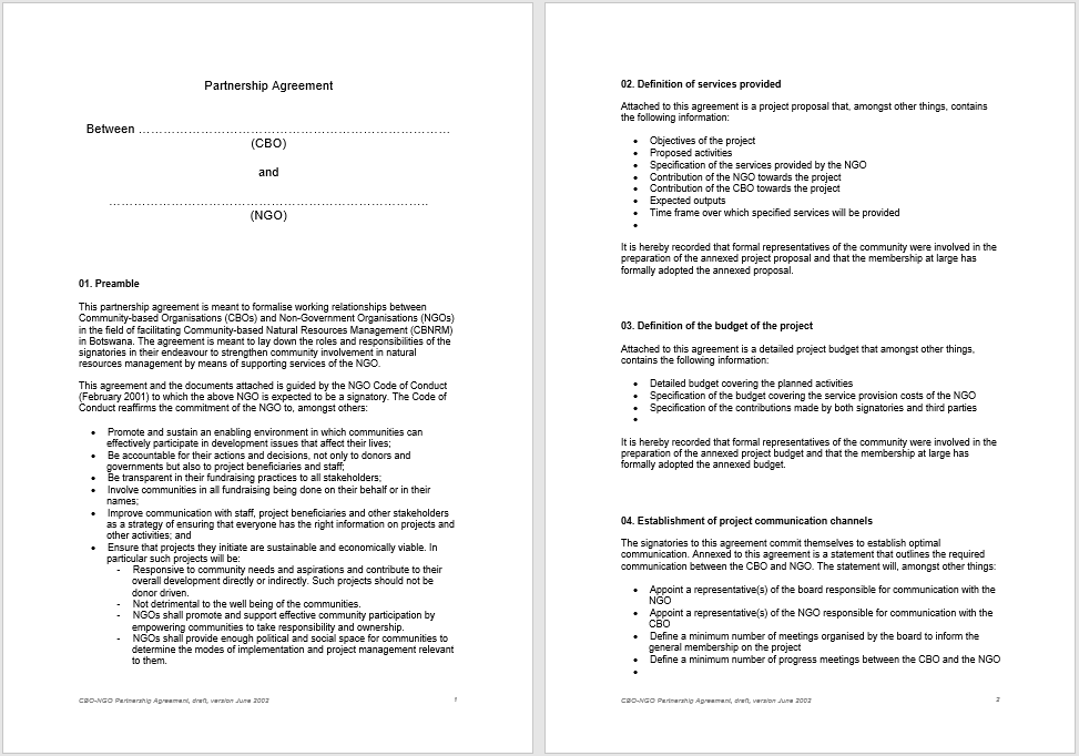 partnership agreement template 13