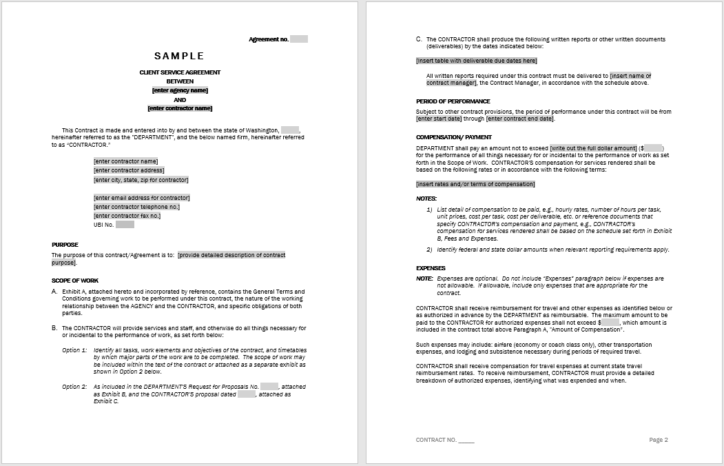 Consultancy Agreement Template 02