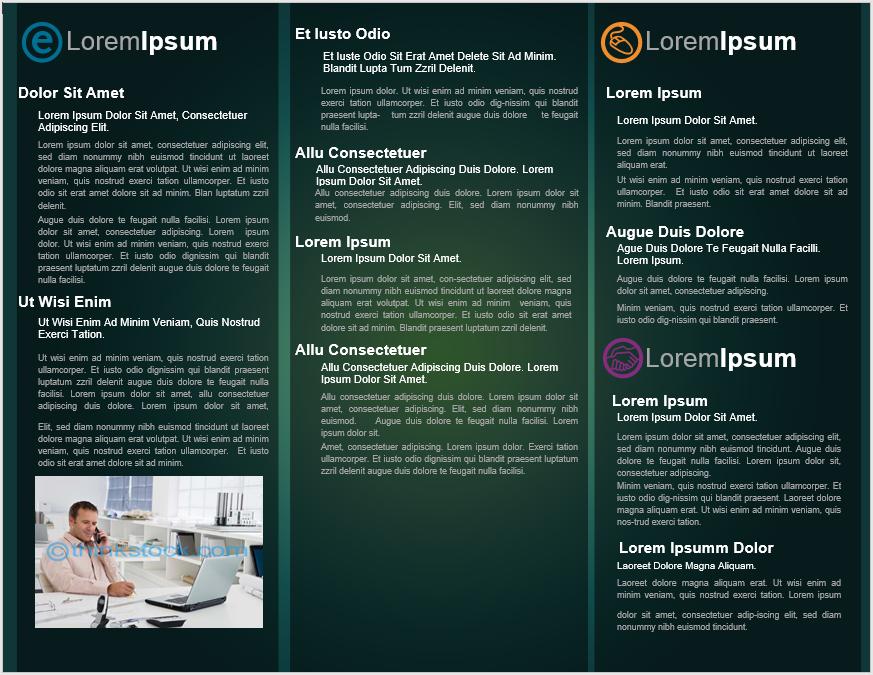 Tri Fold Brochure Template 02