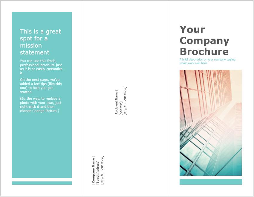Tri Fold Brochure Template 08