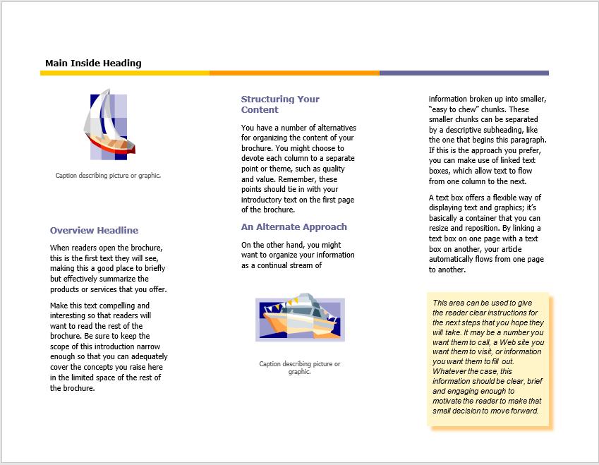 Tri Fold Brochure Template 09