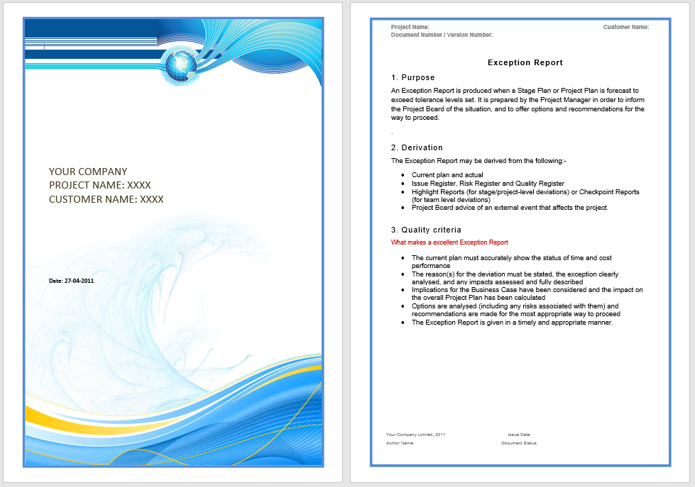 annual business report template 11