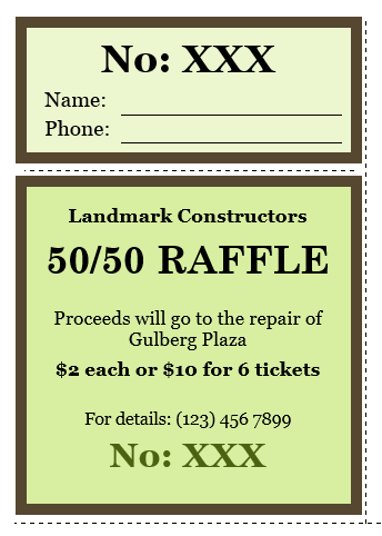 raffle ticket templates 02