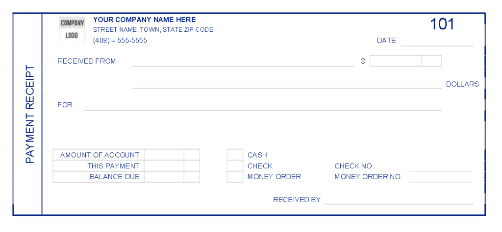 Cash Receipt Template 02