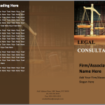 Consultancy Company Brochure Template
