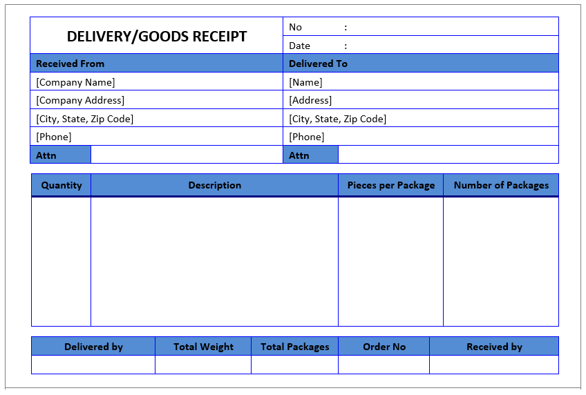 7 free sales receipt templates in ms word format