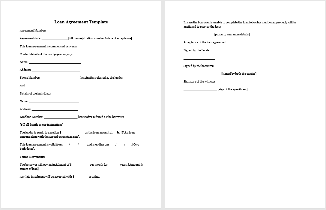 loan agreement template 05