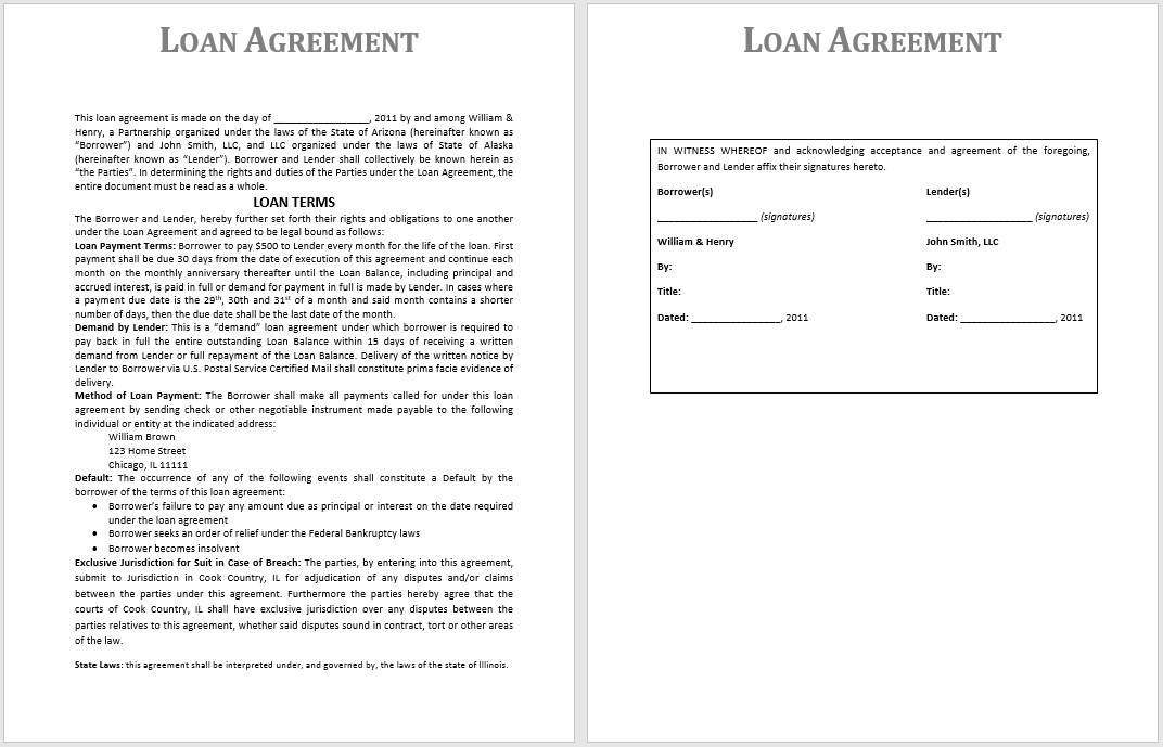 loan agreement template 09