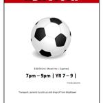 Football Match Flyer Template