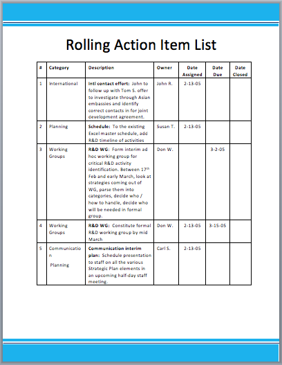 action item tracker template - action register template excel pictures to pin on