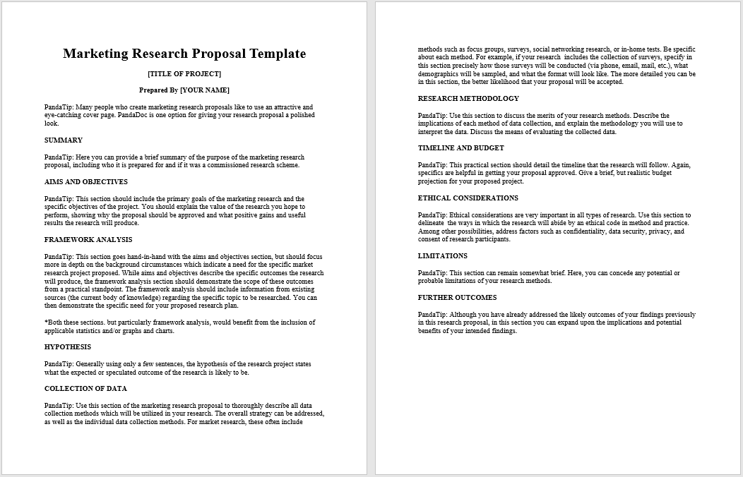 research proposal template 09