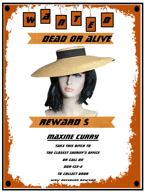 Wanted Poster Design 4