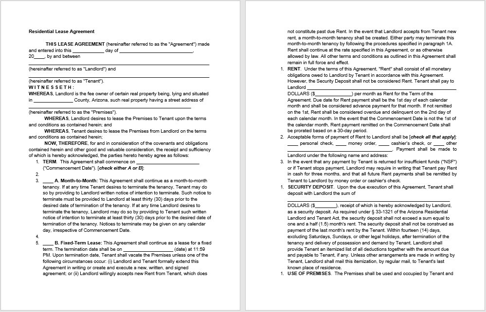 rental agreement template 06