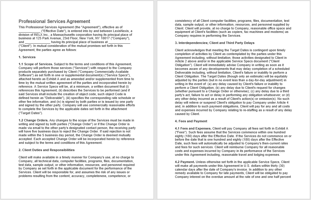 Consultancy Agreement Template 07
