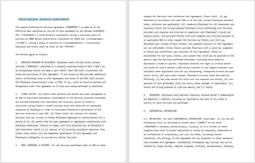 Consultancy Agreement Template 10