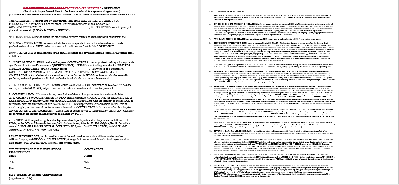 Consultancy Agreement Template 16