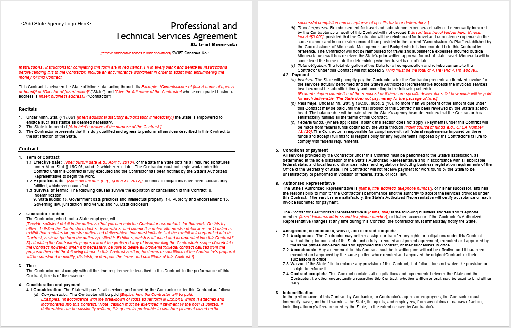 Consultancy Agreement Template 18