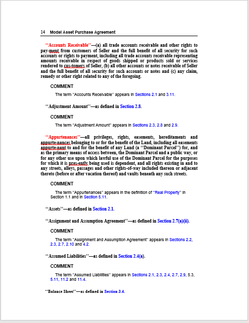 Purchase Contract Word Template 20