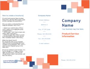 Tri Fold Brochure Template 01