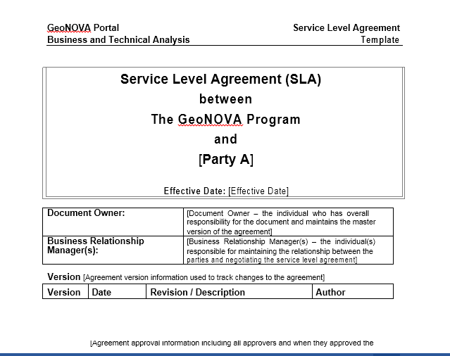Service Agreement Template 01