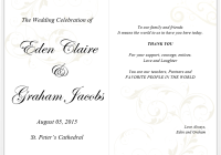wedding menu example archives word templates
