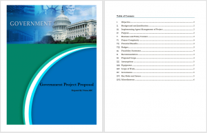 Government Project Proposal Template