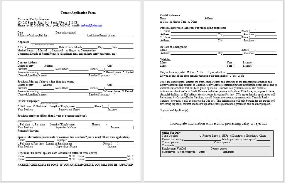 Tenancy Agreement Template 03