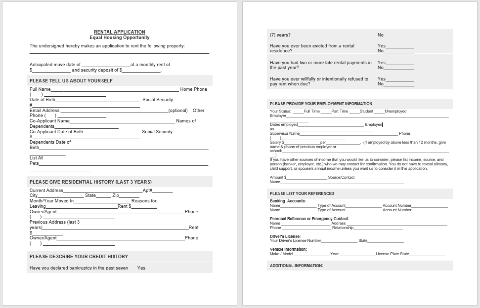 Tenancy Agreement Template 04