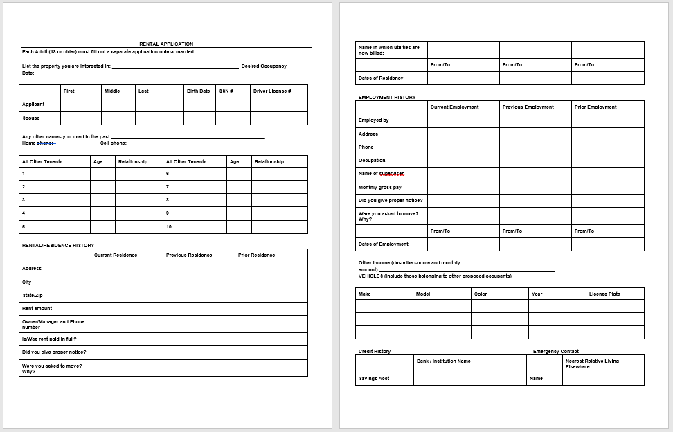 Tenancy Agreement Template 05