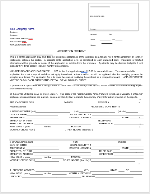 Tenancy Agreement Template 06