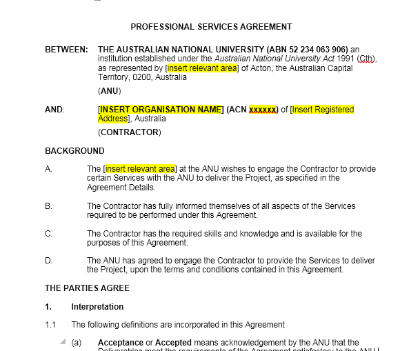 Service Agreement Template 13
