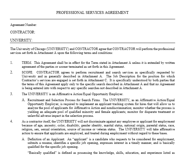 Service Agreement Template 17