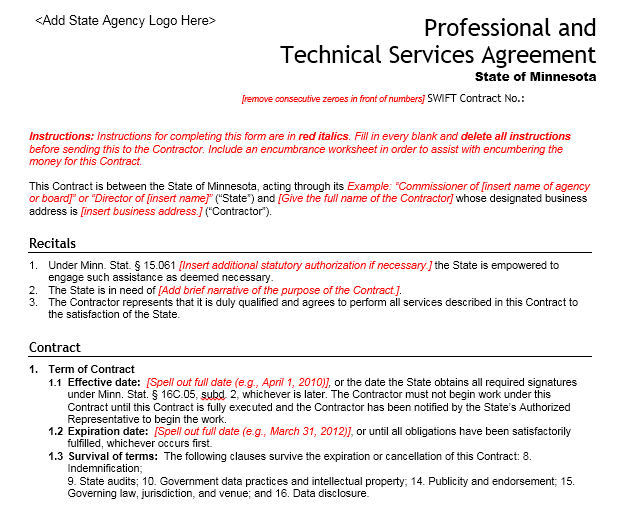 Service Agreement Template 18