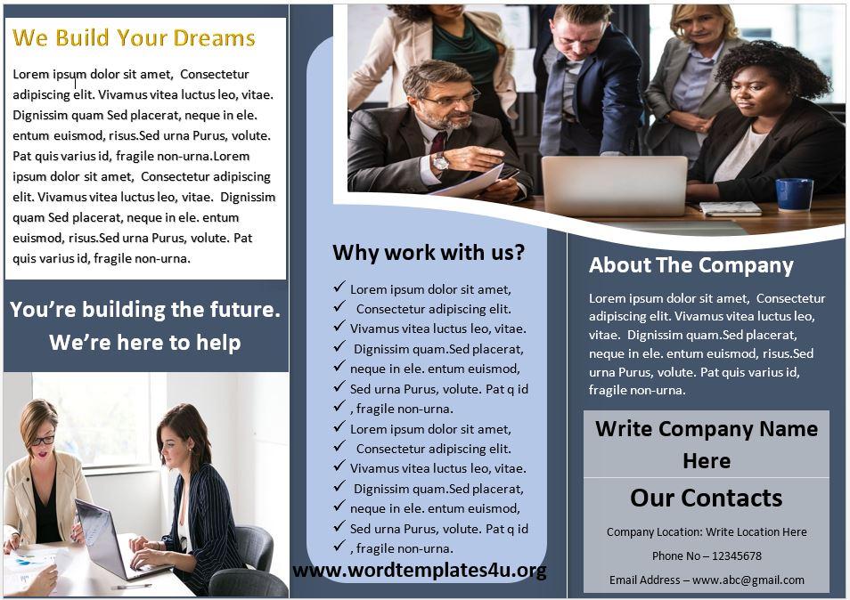 Consultancy Company Brochure Template