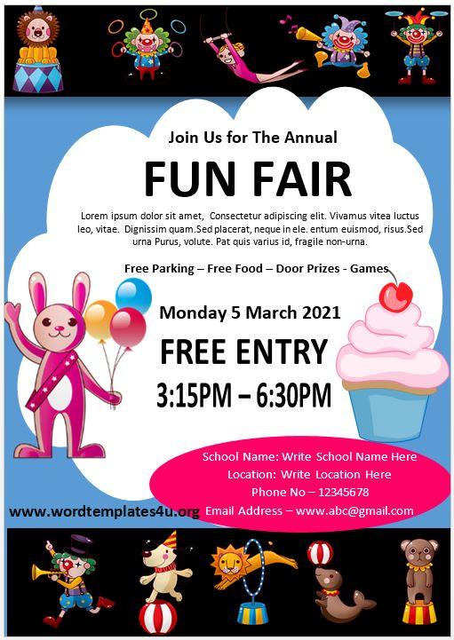 Fun Fair Poster Template